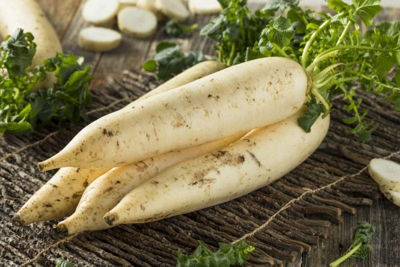 health benefits of daikon