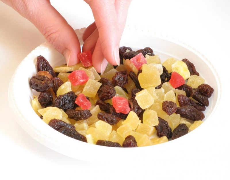 convenience dried fruit