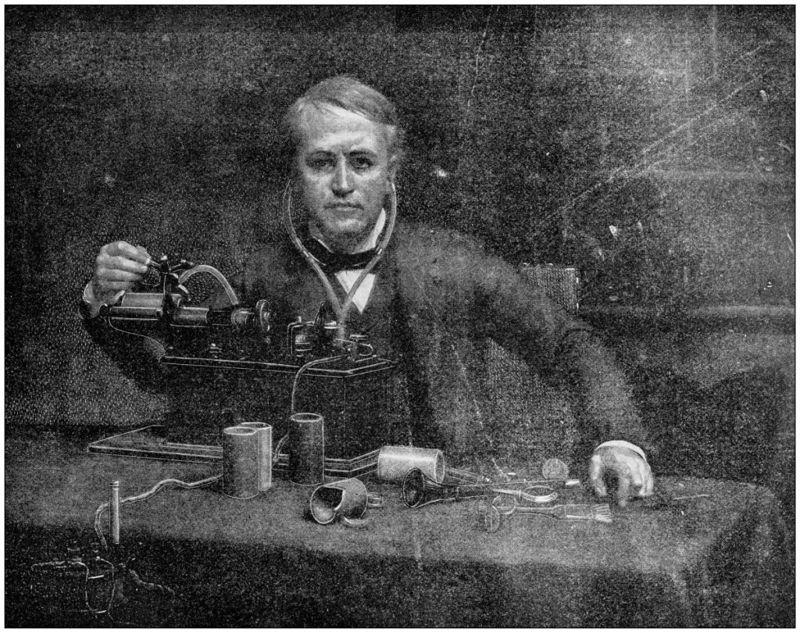Thomas Edison sound