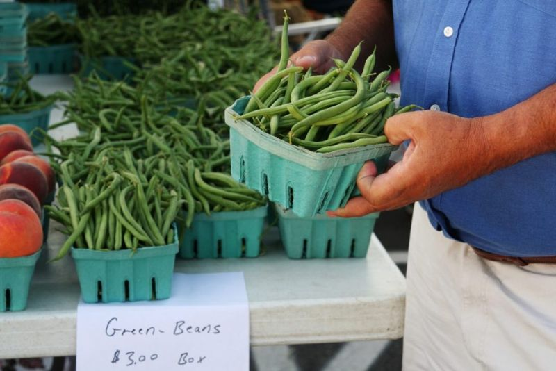 storage French green beans