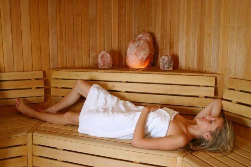 saunas stress