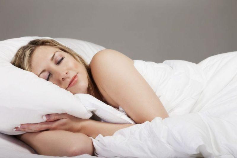 self-image sleeping naked
