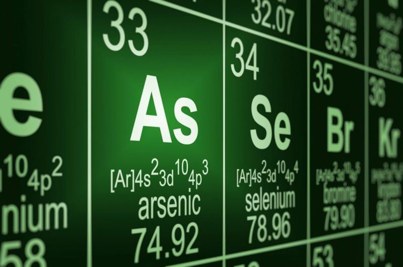 discovery of arsenic