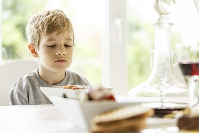 children taste aversion