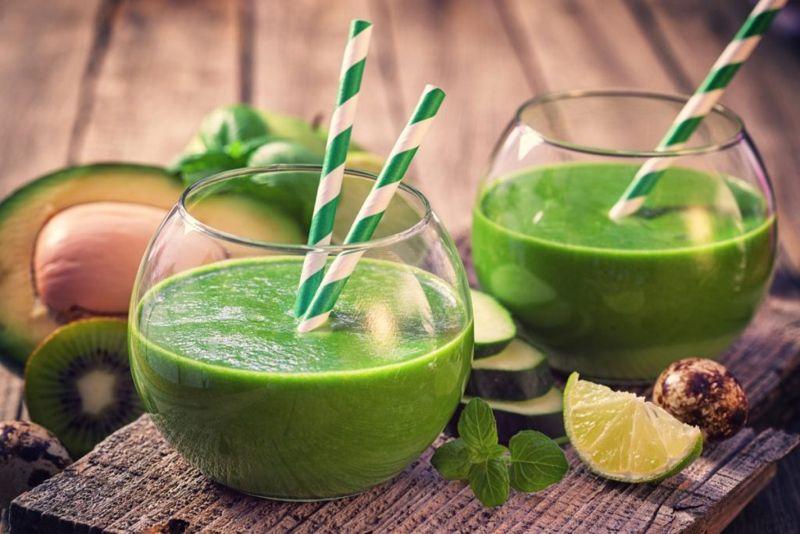 avocado smoothie juice