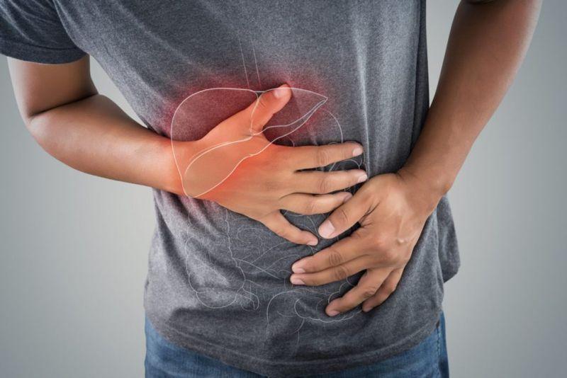 liver disease ribcage