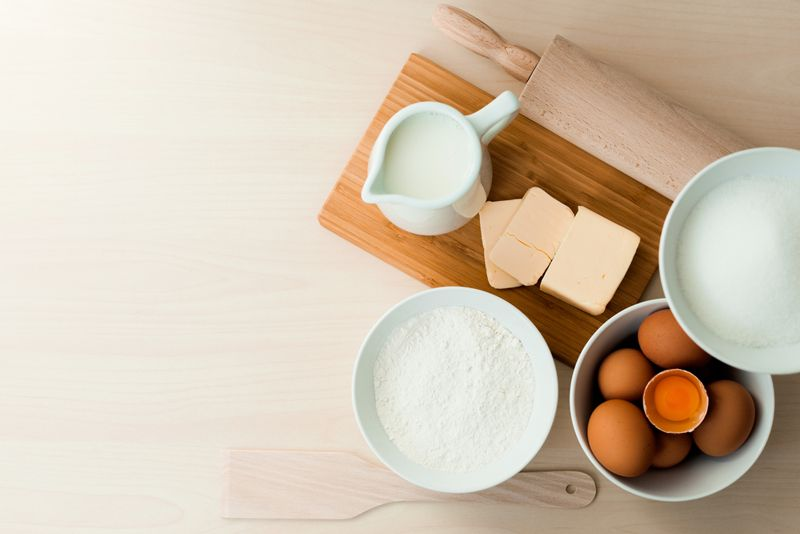 ingredients homemade pasta