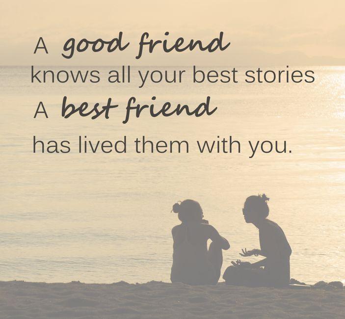 a good friend friendship
