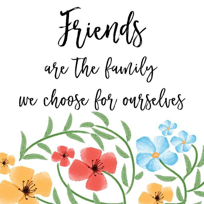 family friendship
