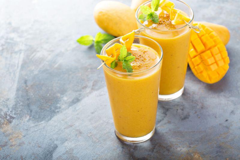 Milkshakes mango