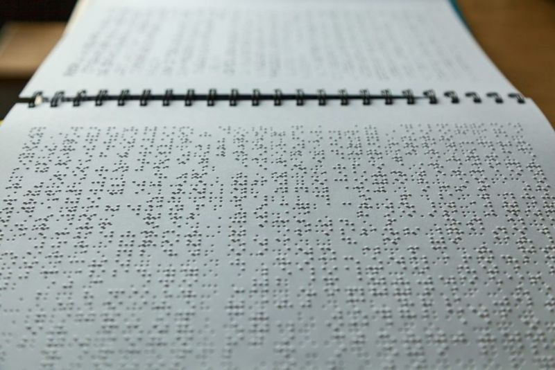 printing Braille is