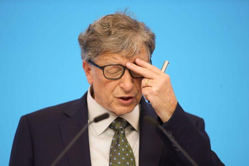 Bill Gates children rich