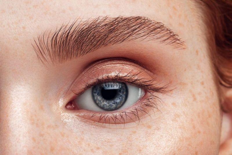 eyes skin melanin