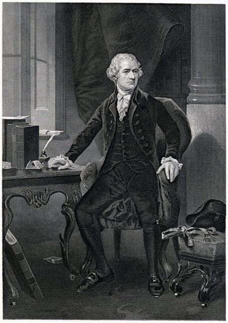 Founding Fathers hamilton