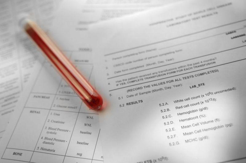 range blood test