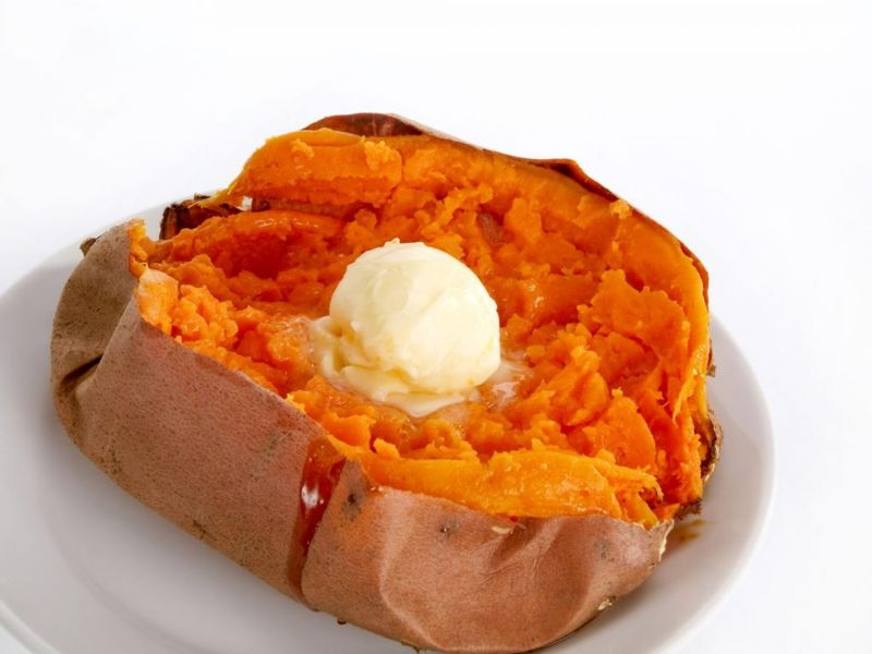 choosing a sweet potato