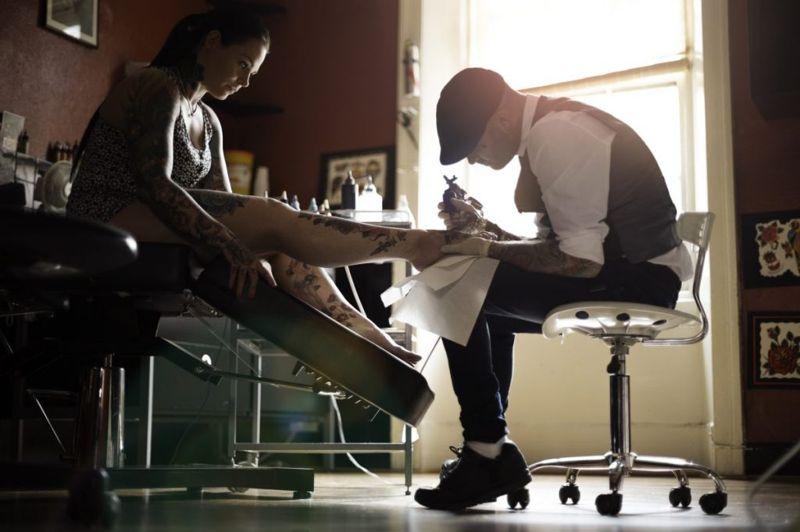 healing time getting a tattoo