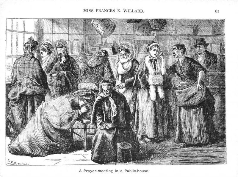 Prohibition temperance movement