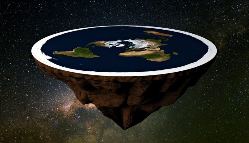 flat earth Conspiracy theories