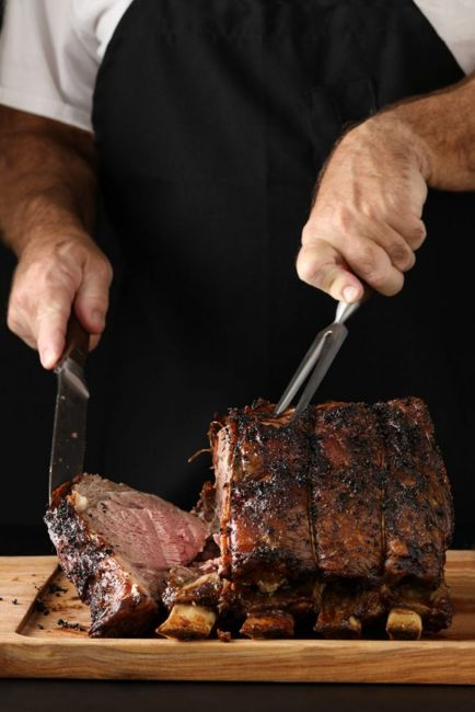 cooking with prime rib