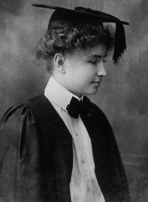 Helen Keller academics