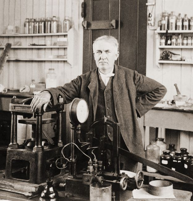 who was Thomas Edison