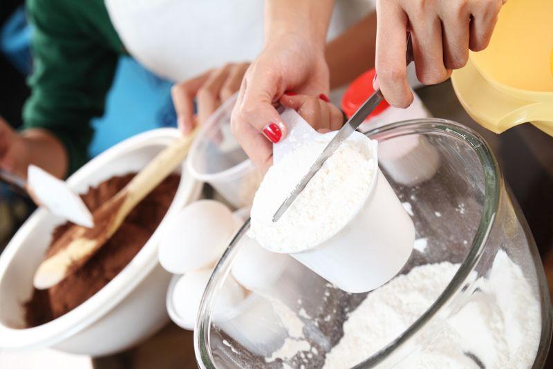 flour measurement carrot cake