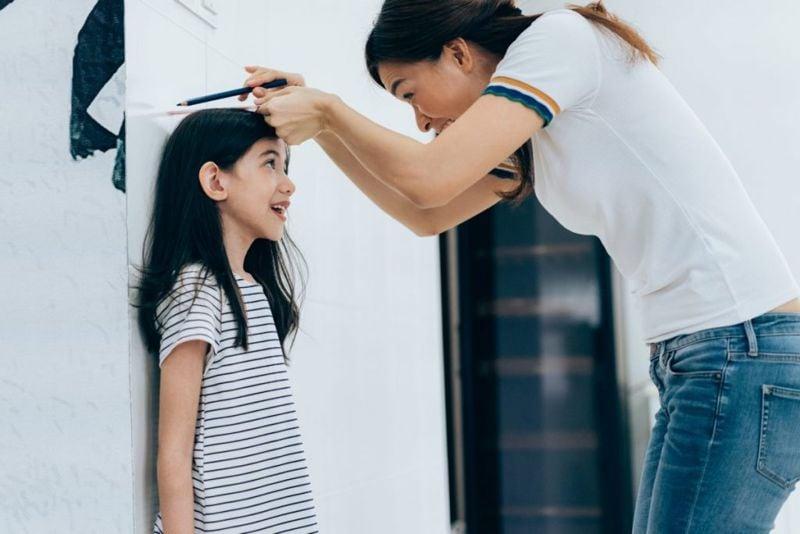 taller girl characteristic