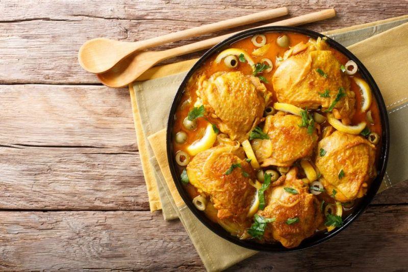 arabian braised chicken