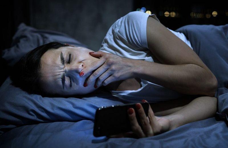 sleep blue light
