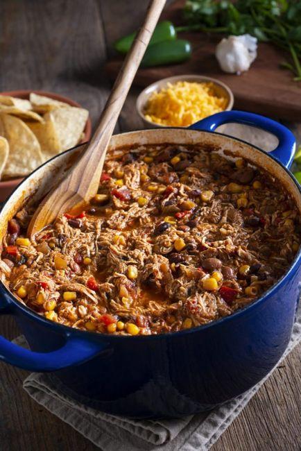 southwest sante fe chili corn