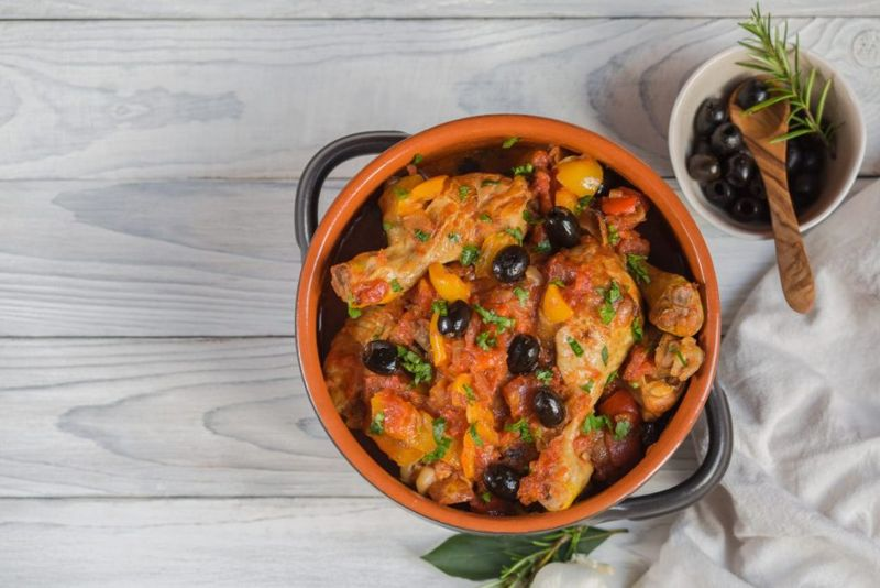 Chicken Recipes, Chicken Cacciatore