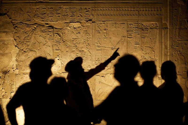 Pyramids of Giza hieroglyphics
