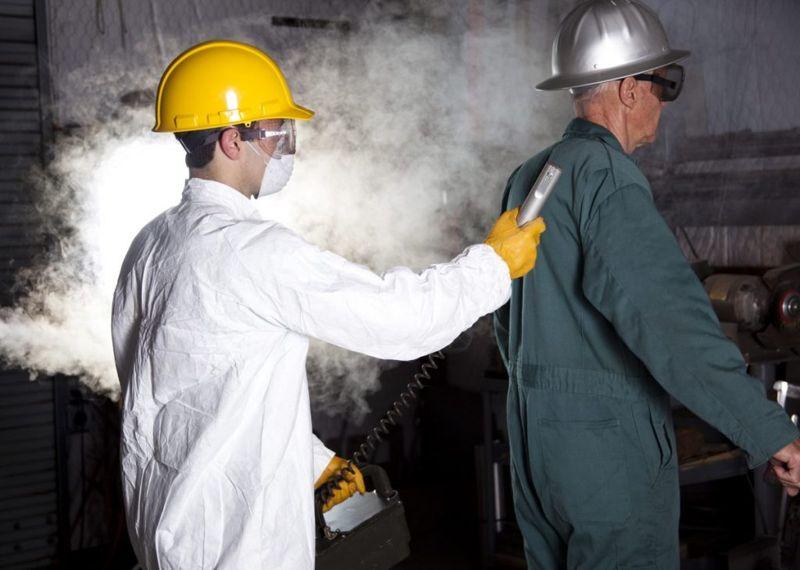 exposure radiation sickness