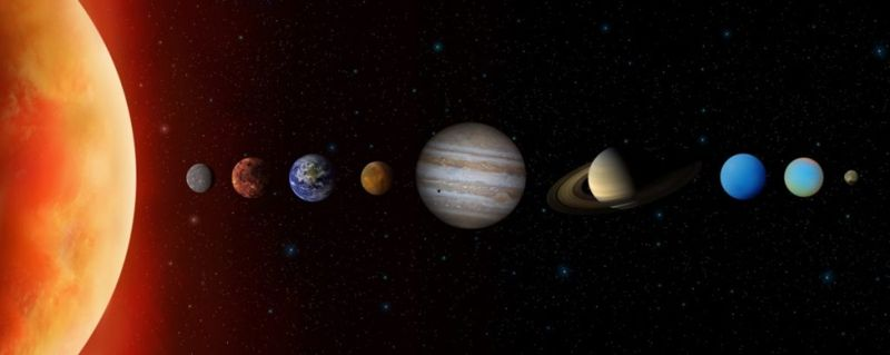 Saturn is the least dense planet in our solar system.
