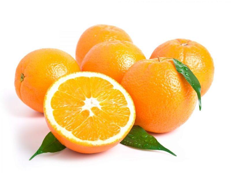oranges juice bright firm skin