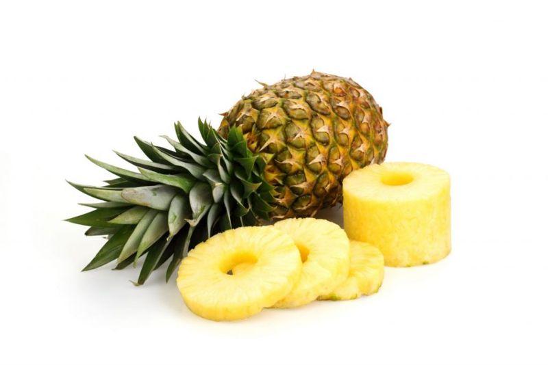 pineapple firm heavy sweet