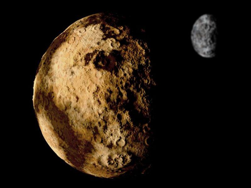 pluto and charon moon