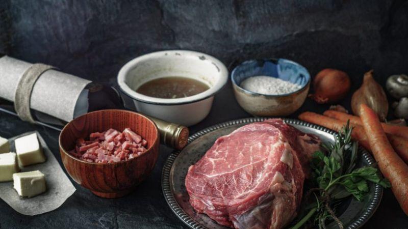 cook beef bacon beef bourguignon