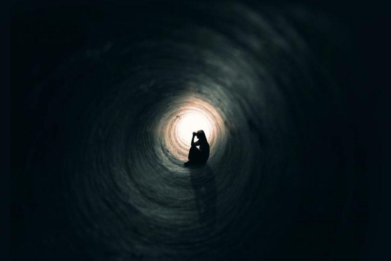 loneliness dark depression alone