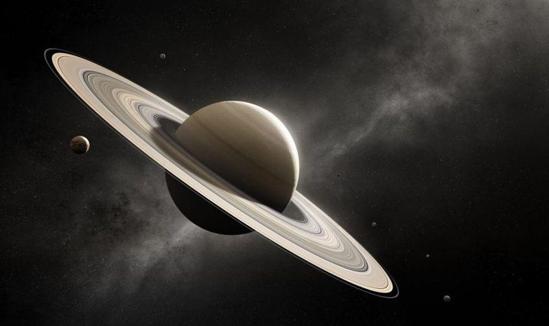 rotation rings saturn