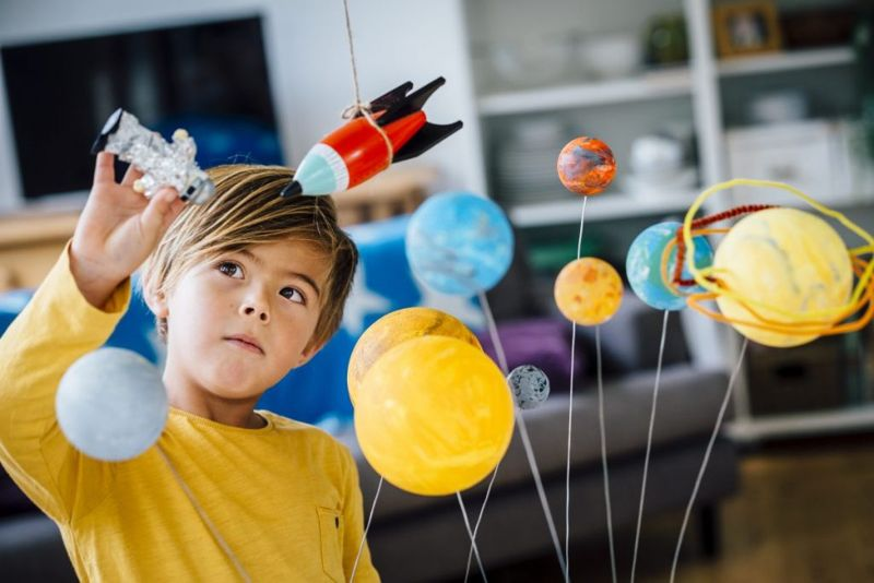 little boy solar system