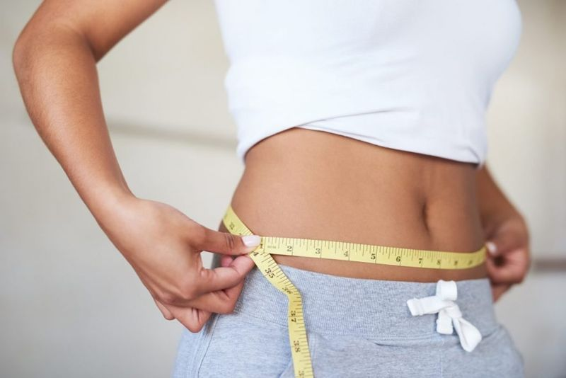 Measuring waist lose weight gout