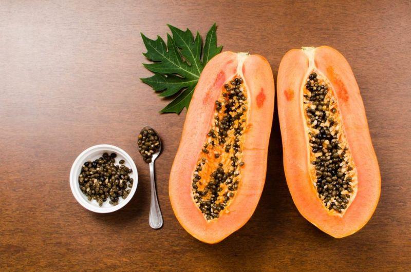 papaya seeds healthy nutrients