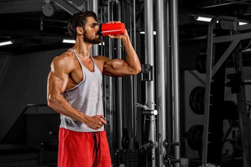 right amount of protein muscle