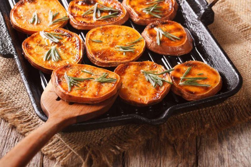 sweet potatoes have vitamins
