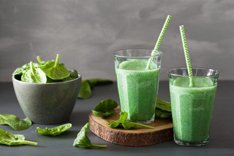 spirulina smoothie healthy arginine