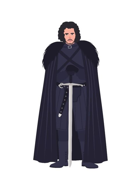 Jon Snow Game of Thrones stark