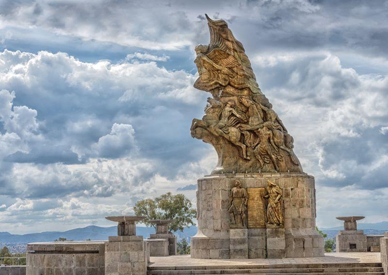 Cinco de Mayo Victory monument in Puebla, Mexico