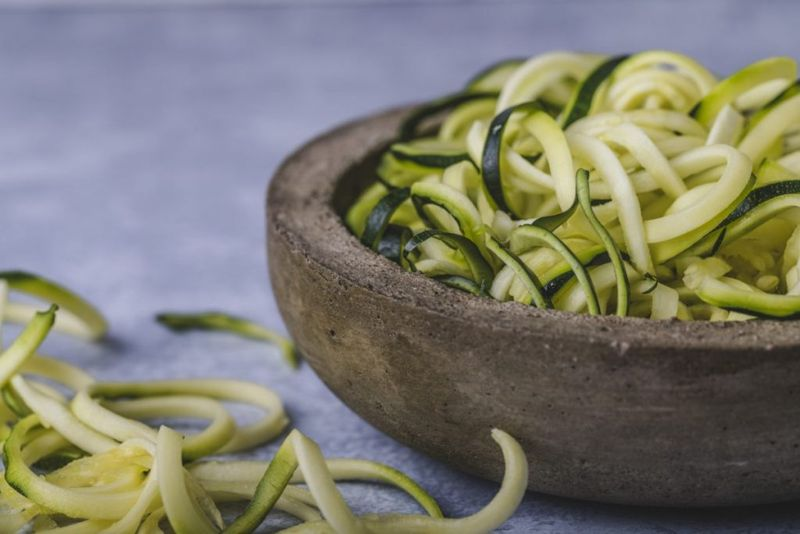 Vegetables Zucchini Zoodles